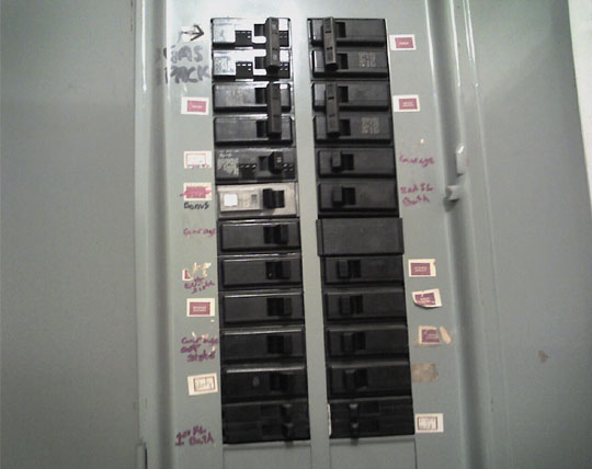 Fuse Box Breaker Box : Blown fuse in breaker box wiring diagram images